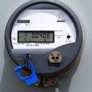 Smart Meter with lock