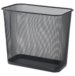 Home Depot Metal Mesh Waste Basket