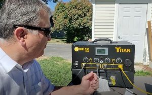 Titan Solar Generator Running Devices